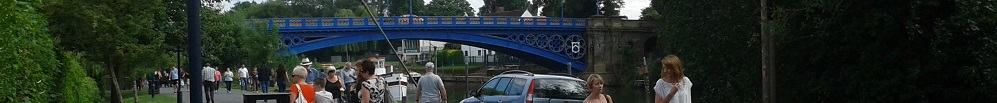 Bridge over the River Severn at Stourport